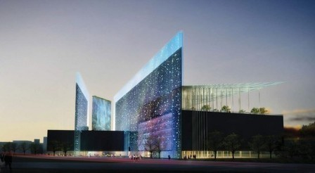[Taichung, Taiwan] City Cultural Center Comeptition Entry / Williamson Architects   The Architecture of the City   Scoop.it