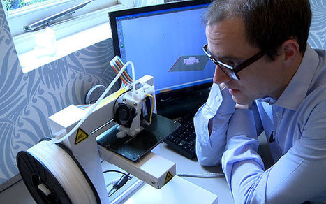 3D printer put through its paces - Telegraph   3D Printing and Innovative Technology   Scoop.it