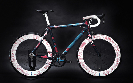 festka urban zero carbon fiber bicycle features illustrations by tomski & polanski - designboom   architecture & design magazine   Design & Textiles   Scoop.it