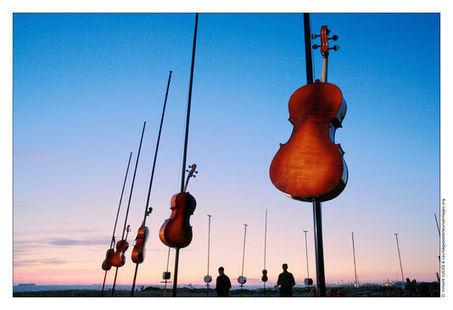 Une «symphonie éolienne» dans les Calanques | Education au sonore et à la musique | Acoustique | Scoop.it