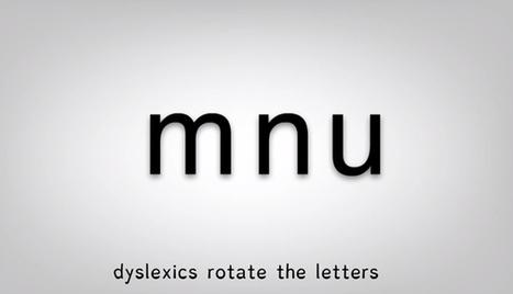 INFEDA   Un tipus de lletra especial per dislèxics   La dislèxia infantil   Scoop.it