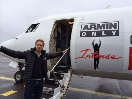 Denim Air paints aircraft for Dutch DJ Armin Van Buuren | Allplane: Airlines Strategy & Marketing | Scoop.it