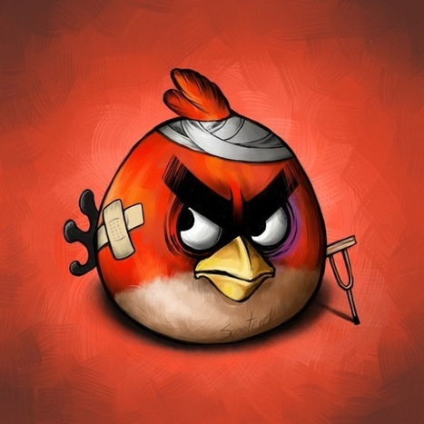 Injured Angry Birds | Visual Inspiration | Scoop.it