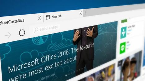 Microsoft Edge, el nuevo navegador de Windows 10 no llegará a Android | Mobile Technology | Scoop.it