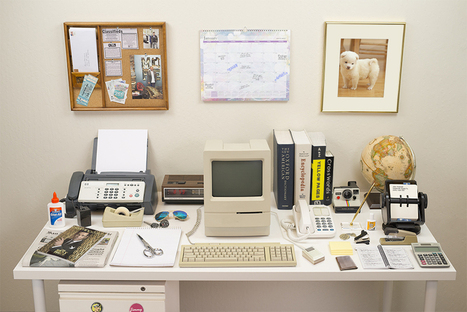 """Evolution of the Desk"" 