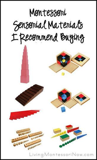 Montessori Sensorial Materials I Recommend Buying | Montessori Inspired | Scoop.it