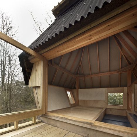Nozomi Nakabayashi creates tiny hut on stilts getaway | The Blog's Revue by OlivierSC | Scoop.it