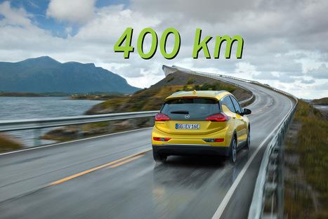 Opel Ampera-e, l'autonomia di 400 km è da record | green car | Scoop.it