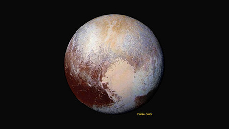 New Horizons Discovers Flowing Ices on Pluto | New Space | Scoop.it