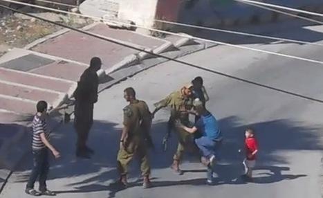 Video: Graban a un soldado israelí pegando a un niño palestino de 12 años | Saber diario de el mundo | Scoop.it