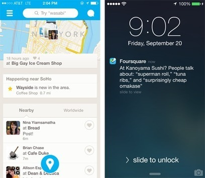 Find great places (and friends) nearby, right now, with the newly-updated Foursquare.   Location Is Everywhere   Scoop.it
