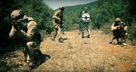 ECA dévoile son grand projet de robotique humanoïde militaire pour la France | Des robots et des drones | Scoop.it