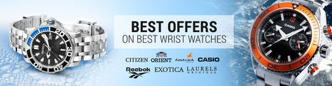 Watches Offers, Discount on Watches, Special Offers On Branded Watches India - Infibeam.com | Online Shopping Store | Scoop.it