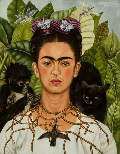 Looking at Frida Kahlo's Downright Racy Plant Paintings at the Botanical Garden   Arts   Scoop.it