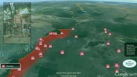 Google Earth utilized by HALO Trust to clear minefields in Cambodia and Angola | geoinformação | Scoop.it