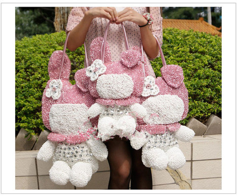 Small Rhinestone My Melody Bags Fashion Lady Shoulder Style Pink Black Gold Orange [women-bags-021] - $139.00 : Hello Kitty Bags For Ladies, Anteprima Bags Style Stereo Hello Kitty Bags ,Panda Bags... | Amazing Hello Kitty Bags | Scoop.it