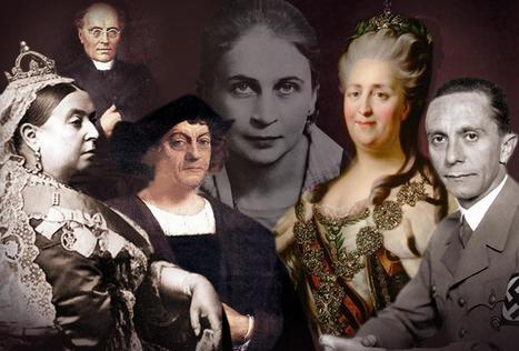 Testaa, tunnistatko historian merkkihenkilöt kasvojen perusteella   Historia   Scoop.it
