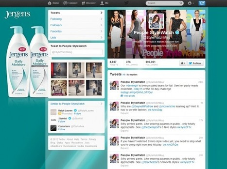 People StyleWatch turns its Twitter wallpaper into ad space | Hair Beauty Trends | Scoop.it