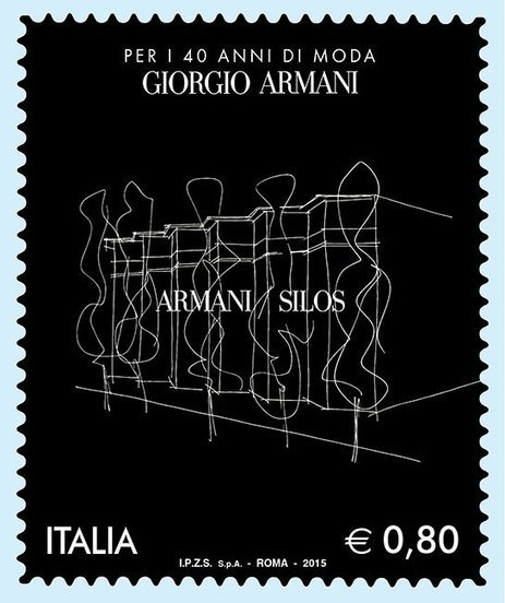 Armani's new postage stamp | Communication design | Scoop.it