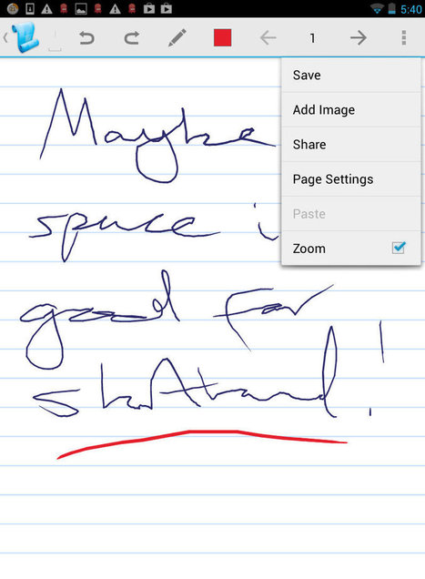 Apps for Digital Note-Taking | Web 2.0 in the classroom | Scoop.it