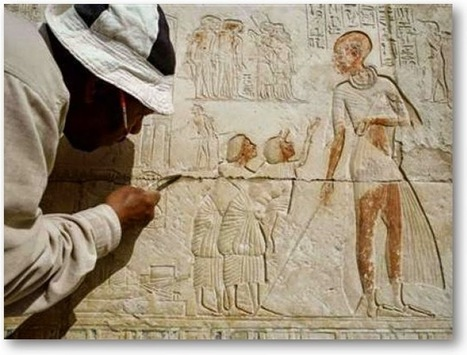 Missions working in Egypt, Aswan: American-Belgian archaeological mission turns King Cheops petroglyphic engravings into 3D inscriptions | Ancient Egypt and Nubia | Scoop.it