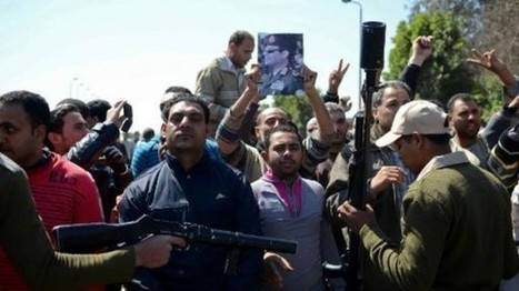 "Five Egyptian soldiers shot dead in Cairo | ""Asian Spring"" 