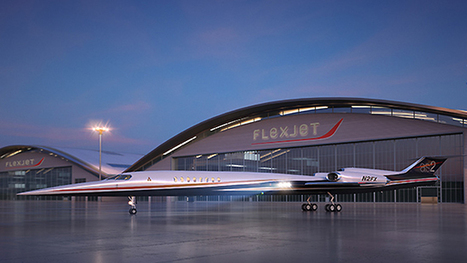 First order for the AS2 supersonic business jet | Commercial Aviation | Scoop.it