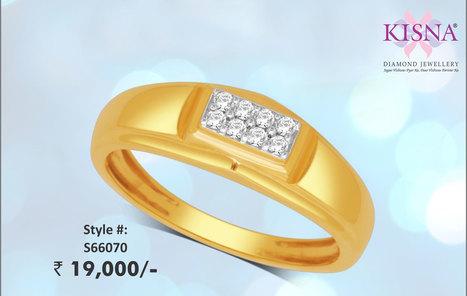 Sun Man Ring S66070 From Kisna&#65279;<br/>View Online: http://goo.gl/mPv3Fw   Gold Diamond Jewellery Designs   Scoop.it