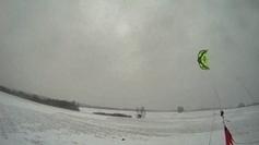 Spectaculaire : deux jeunes de Rouen surfent sur la neige avec un cerf-volant ! - France 3 Haute-Normandie | Newsport | Scoop.it