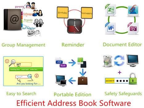 Contact Management Software - Efficient Address Book - Free Download | Efficient Software | Scoop.it