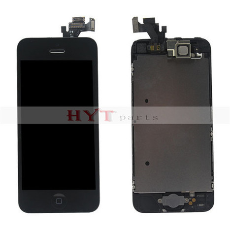 iPhone 5 Original Complete LCD with Touch Digitizer and Small Parts Assembly Black | Fixing or DIY our cell phones by ourselves | Scoop.it
