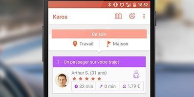 Mobilité : le covoiturage local selon Karos | great buzzness | Scoop.it