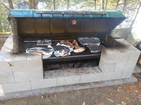 comment construire un grand barbecue dans son j. Black Bedroom Furniture Sets. Home Design Ideas