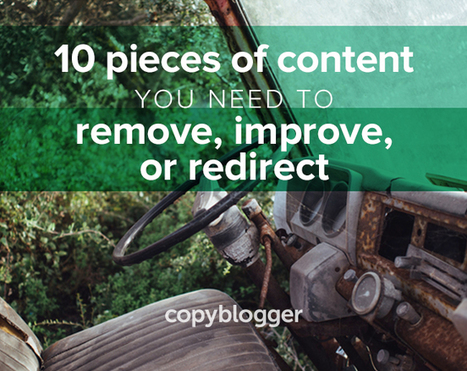A Brief Guide to Fixing Your Old, Neglected, and Broken Content | Content Marketing and Curation for Small Business | Scoop.it