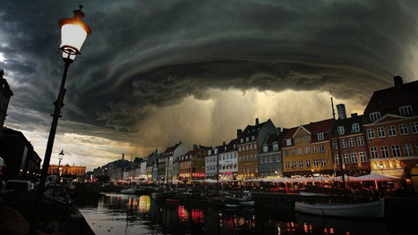 This photo of the monster storm over Denmark is not real—but it's cool | News we like | Scoop.it