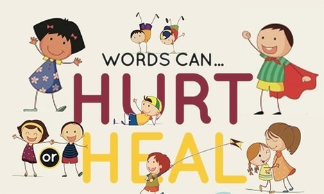 Free Classroom Poster: Words Can Hurt or Heal | Strictly pedagogical | Scoop.it