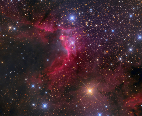 APOD: 2013 October 19 - Sh2 155: The Cave Nebula | tecnologia s sustentabilidade | Scoop.it