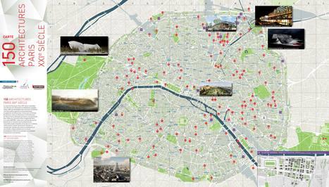 Une carte pour découvrir l'architecture contemporaine à Paris. | Architecture pour tous | Scoop.it