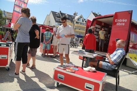 Quiberon Lecture pendant l'été. Dernière étape en Bretagne du « Camion qui livre », à Quiberon | librairies et bibliothèques | Scoop.it