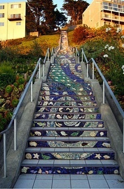 Streetwise - Stairways to the Stars - Western Neighborhoods Project - San Francisco History | Hidden Garden Steps | Scoop.it