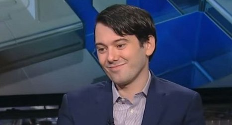 Pharma Bro Martin Shkreli fired from pharma company KaloBios | Restore America | Scoop.it