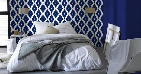 Vintage, graphique, élégant... Le joli papier peint fait le mur | Décoration, tendances et bons plans | Scoop.it