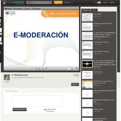 E Moderacion | Pearltrees | E-MODERACION | Scoop.it