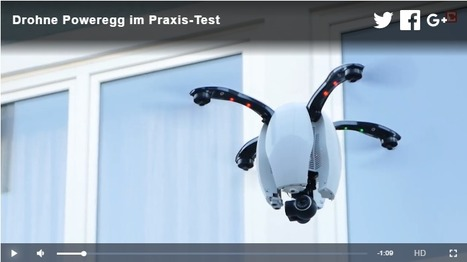 Drohne Poweregg im Praxis-Test | #Drones #Technology | 21st Century Innovative Technologies and Developments as also discoveries, curiosity ( insolite)... | Scoop.it