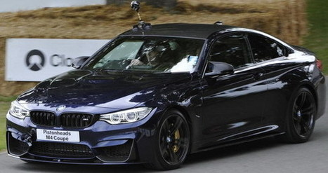 News: BMW M4 Coupe for Goodwood Festival of Speed | Best Car In The World | Scoop.it
