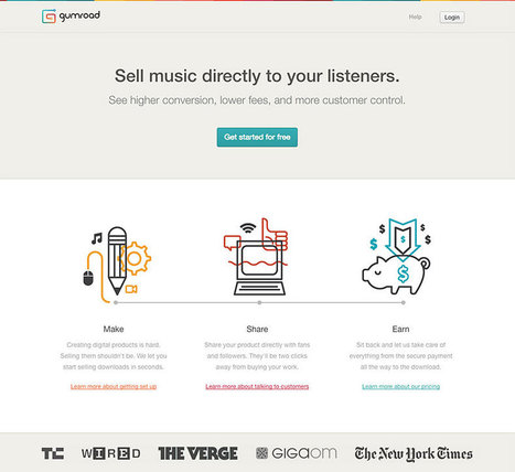 15 landing pages with outstanding UX | ❤ Social Media Art ❤ | Scoop.it