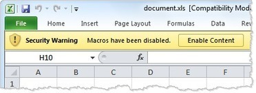 How Malicious Code Can Run in Microsoft Office Documents | Frishit Security | Scoop.it