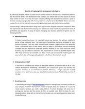 Benefits of Employing Web Development India Experts   Website Application Development   Scoop.it