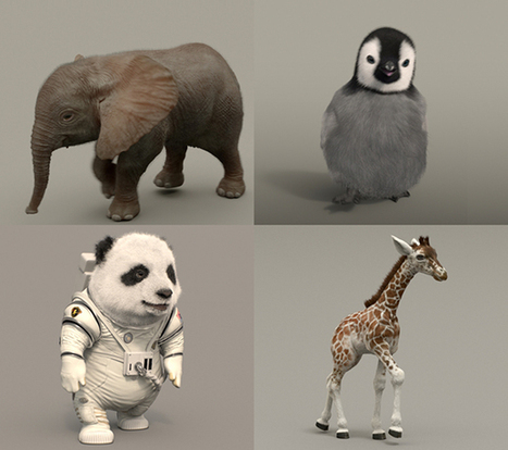 Method: Kia Space Babies - Houdini - 3D Animation and VFX | ARCHIresource | Scoop.it