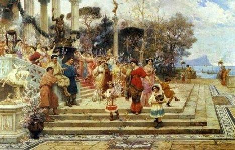 DE REYES, DIOSES Y HÉROES: La fundación de una ciudad romana | Mundo Clásico | Scoop.it